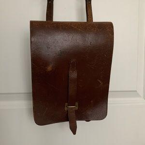 Handbags - Vintage Artists Bag Genuine Leather Crossbody